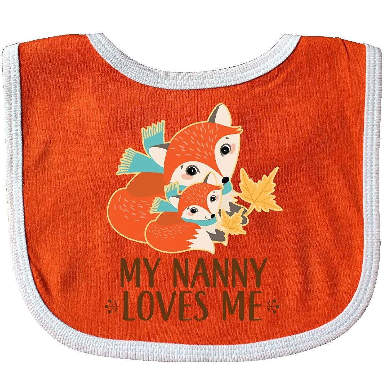 My Nanny Loves Me Cute Fox Baby Bib Degrema rizhaobaifakang