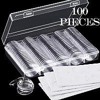 Cápsulas de monedas de 30 mm y 5