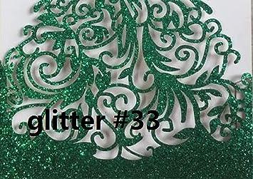 Amazon Com Ouok 25pc Laser Cut Party Glitter Light Gold