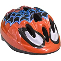 Toim- Spiderman Casco, Color Rojo/Blanco/Negro/Azul, 50 centimeters/56 Centimeters