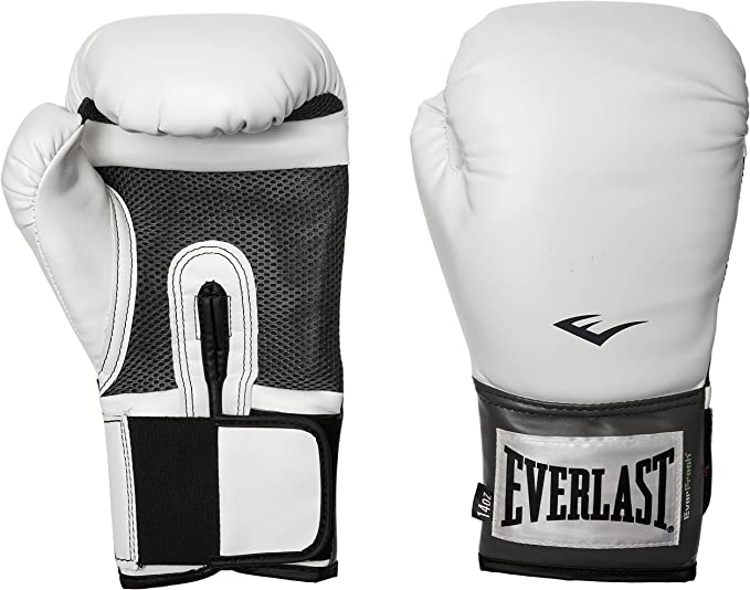 Open Box Everlast Pro Style Mesh Palm Training Boxing Gloves 8 Ounces Black