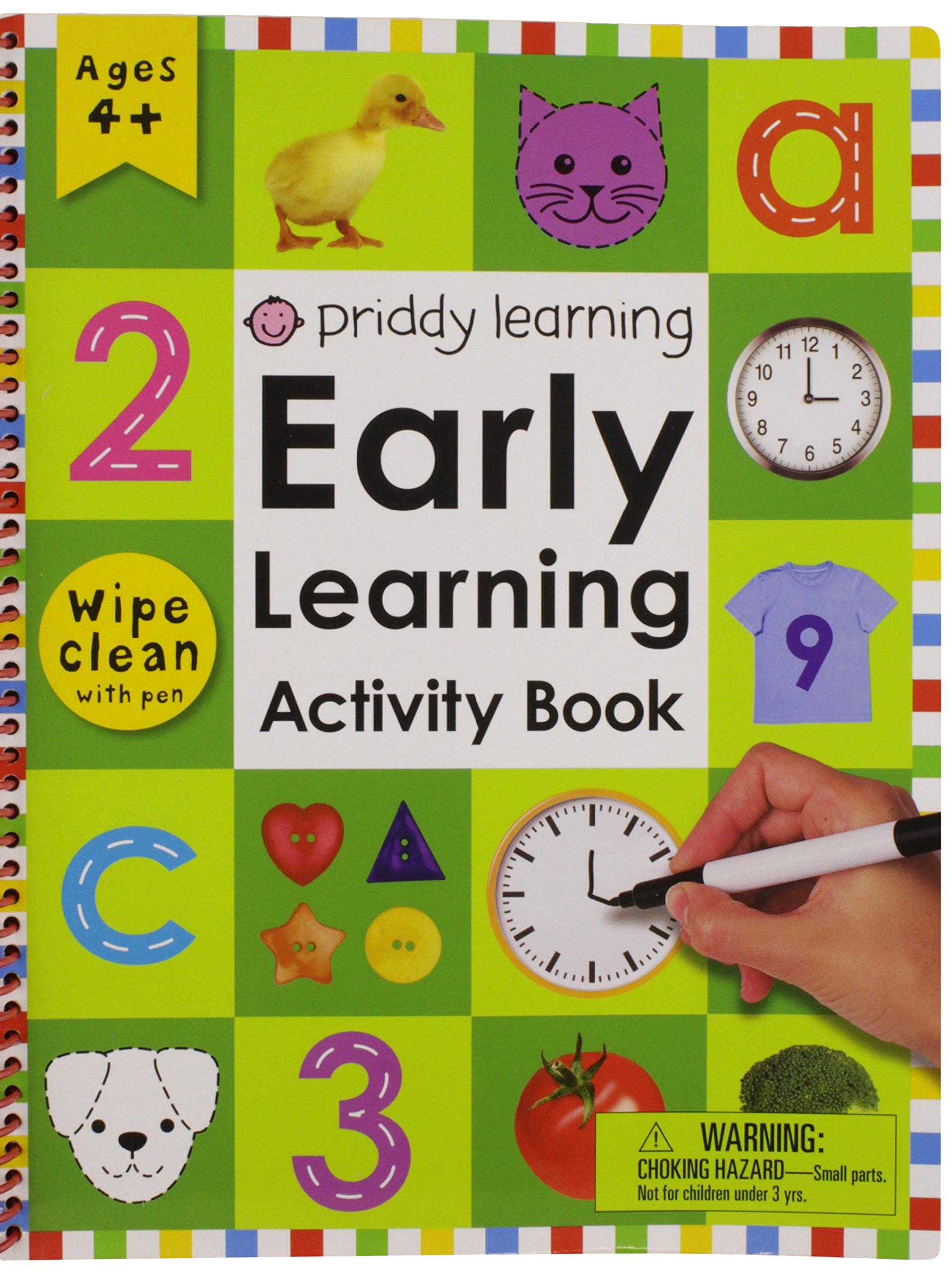 Scholastic Early Learners Write and Wipe Early Math