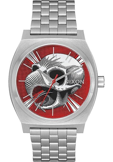 Nixon - Time Teller 37mm Silver / Hawk - Reloj Unisex