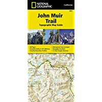 John Muir Trail (topographic Map Guide): National Geographic California