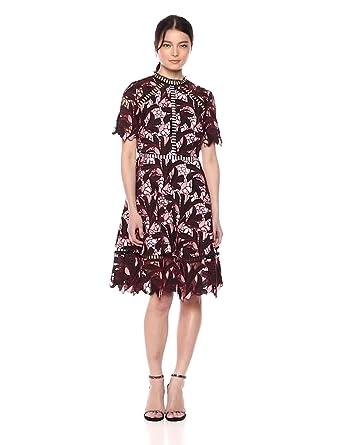 38c39c522b8b Elliatt Women's Apparel Women's Montague Short Sleeve LACE Mini Dress, ...