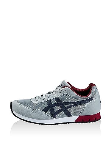 Asics Jungen Curreo GS Sneakers Grau/Marineblau 40 EU