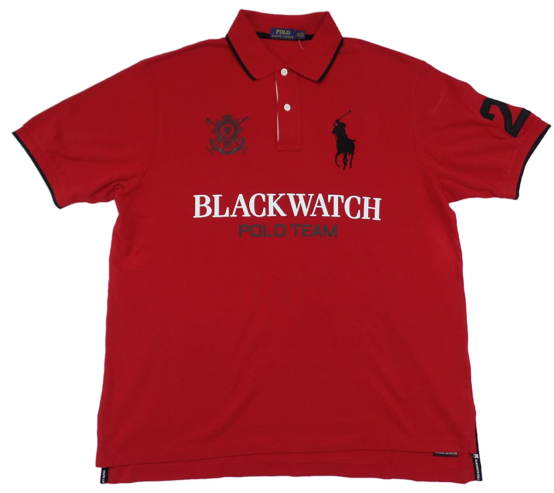 Polo Ralph Lauren Mens Big and Tall Blackwatch Polo Shirt
