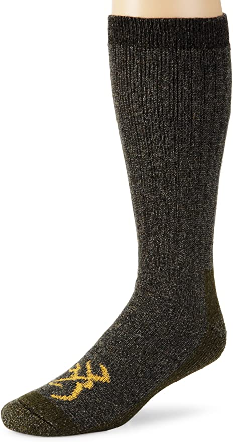 Browning Buckmark Sock Large ~ NEW 2