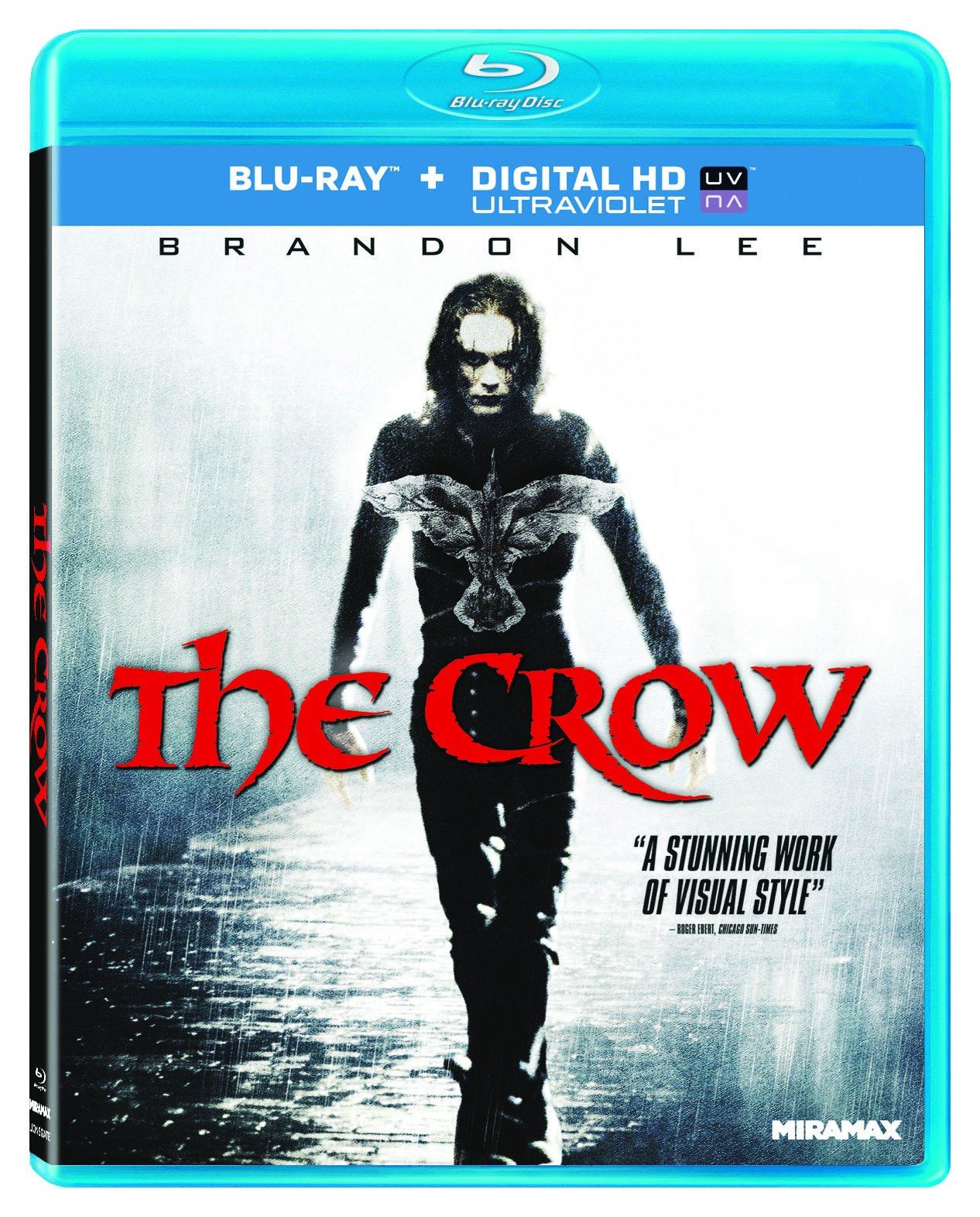 Blu-ray : The Crow (Ultraviolet Digital Copy, Digital Copy, Dolby, Digital Theater System, AC-3)