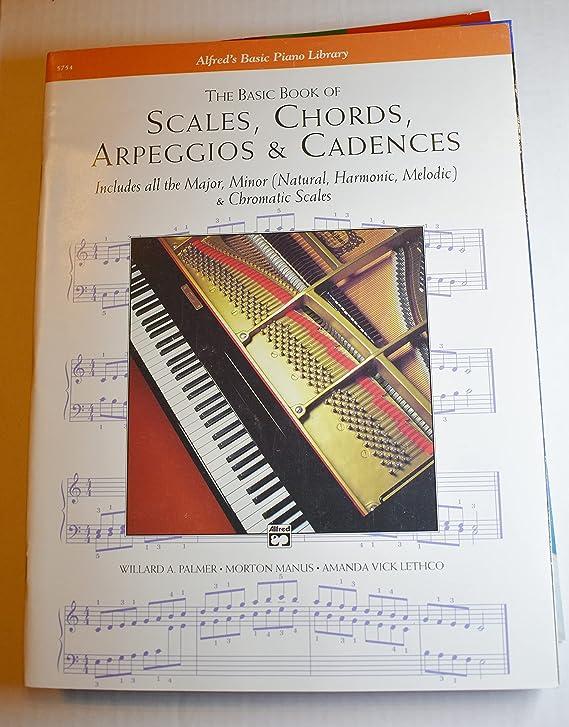 Libro Alfred 00-5.754 Escalas-Acordes-Arpegios y Cadencias-Basic - Music Book