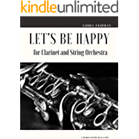 Let's be Happy for Clarinet and String Orchestra book cover