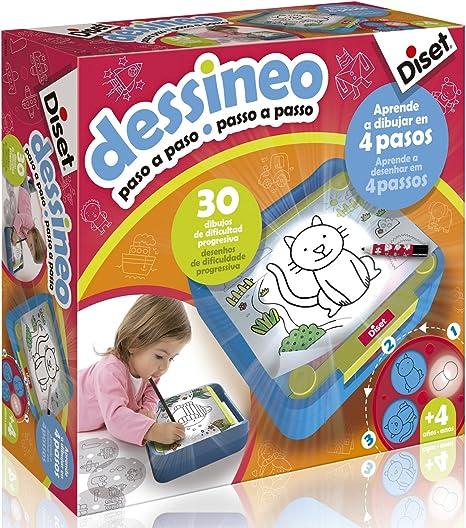 Diset 60186 - Dessineo (Paso a paso), 3 a 6 años: Amazon.es ...