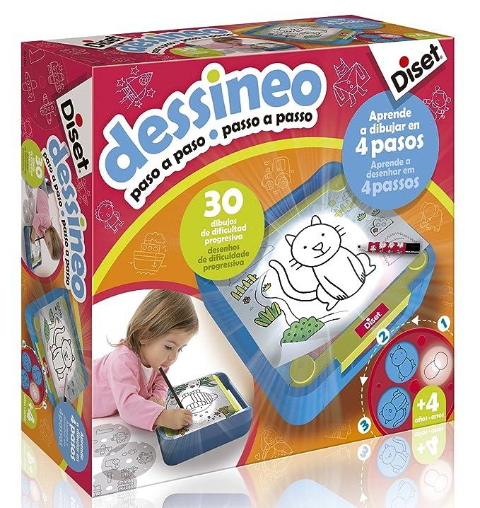 Diset- Aprende a Dibujar Paso (60186): Amazon.es: Juguetes y juegos