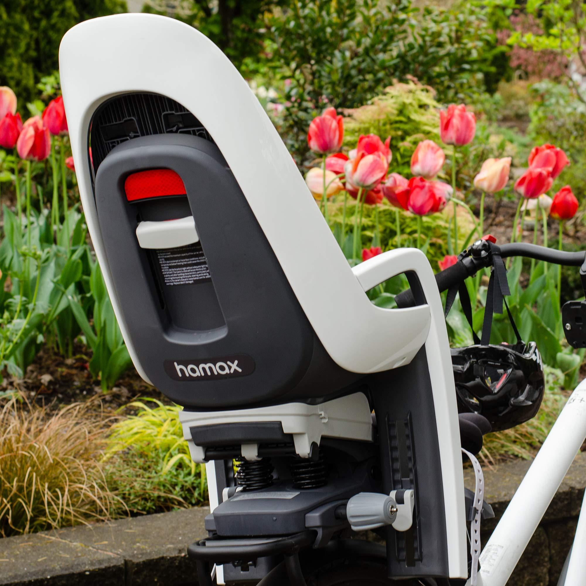 553062 Hamax Zenith Relax Fahrrad Kindersitz Gep/äcktr/äger Schwarz Rot City Trekking E-Bike 9 Monate 22 kg