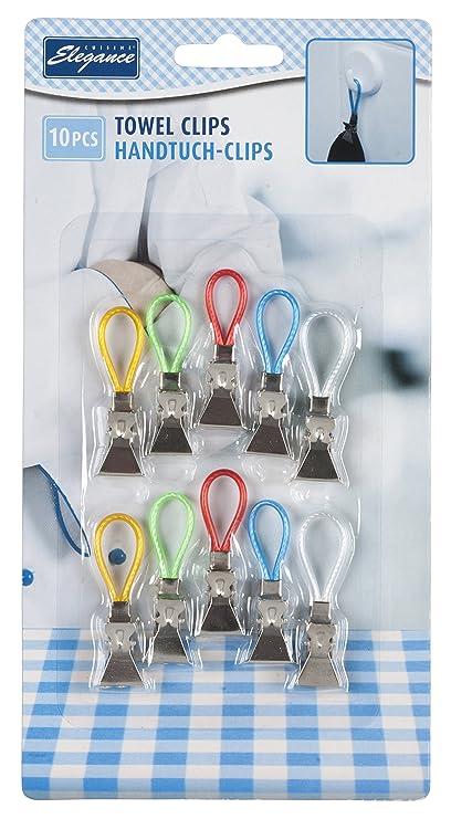 Confezione di 10 strofinacci da cucina Storage clip clips Holder ...