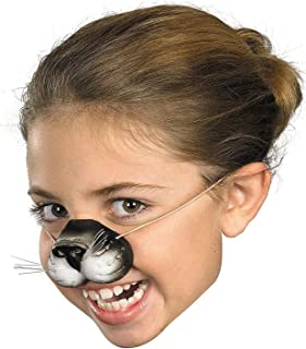 Black Cat Costume Nose - Great Cat Costume Accessory  sc 1 st  Amazon.com & Amazon.com: Adult Black Cat Costume: Clothing