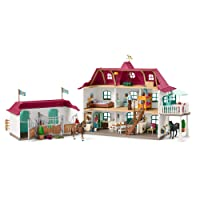 Schleich 42416 - Großer Pferdehof mit Wohnhaus und Stall