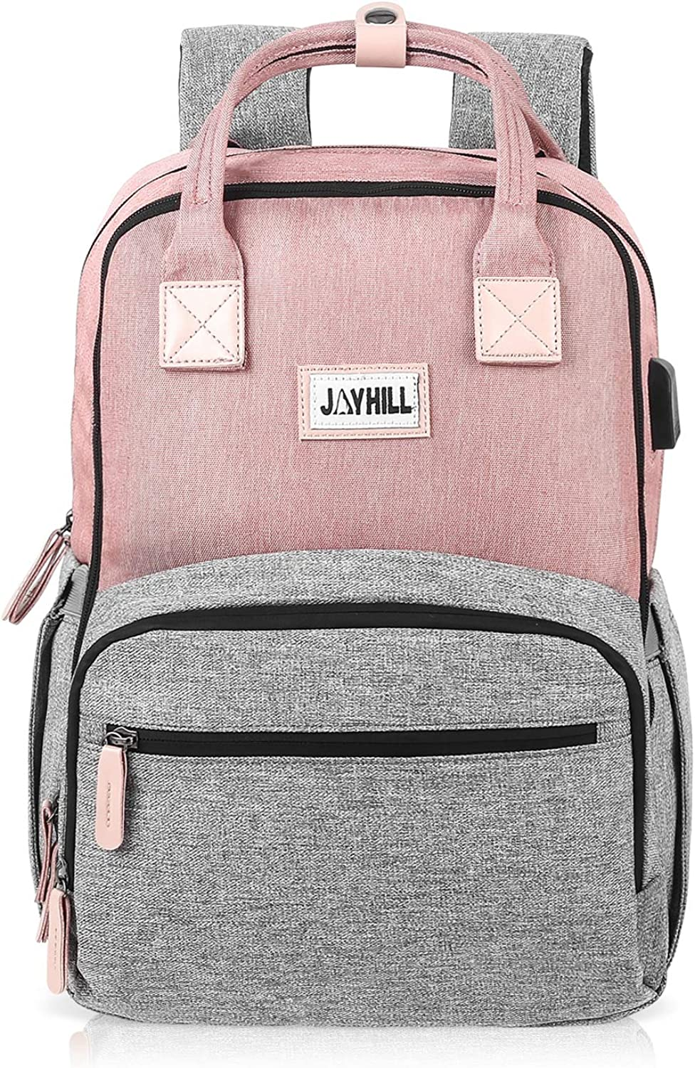 Travel Laptop Backpack for Women Men with USB Charging Port, Computer Backpack College School Backpack Fits 15.6 '' Laptop