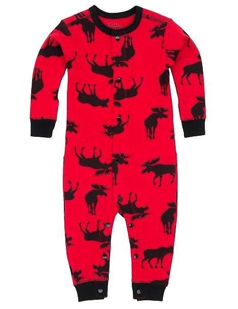Pijamas Unisex Bebé-Niños y Adultos Alces Hatley (12-18 meses)