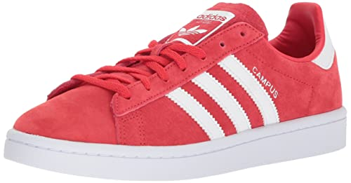 new products 9cb6f 29d9e adidas Originals Womens Campus W, Ray RedWhiteWhite, 6 Medium US