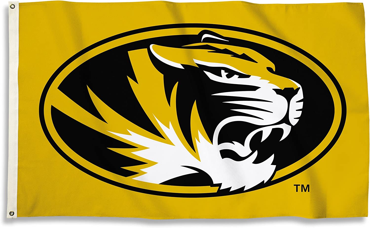 BSI NCAA College Missouri Tigers 3 X 5 Foot Flag with Grommets