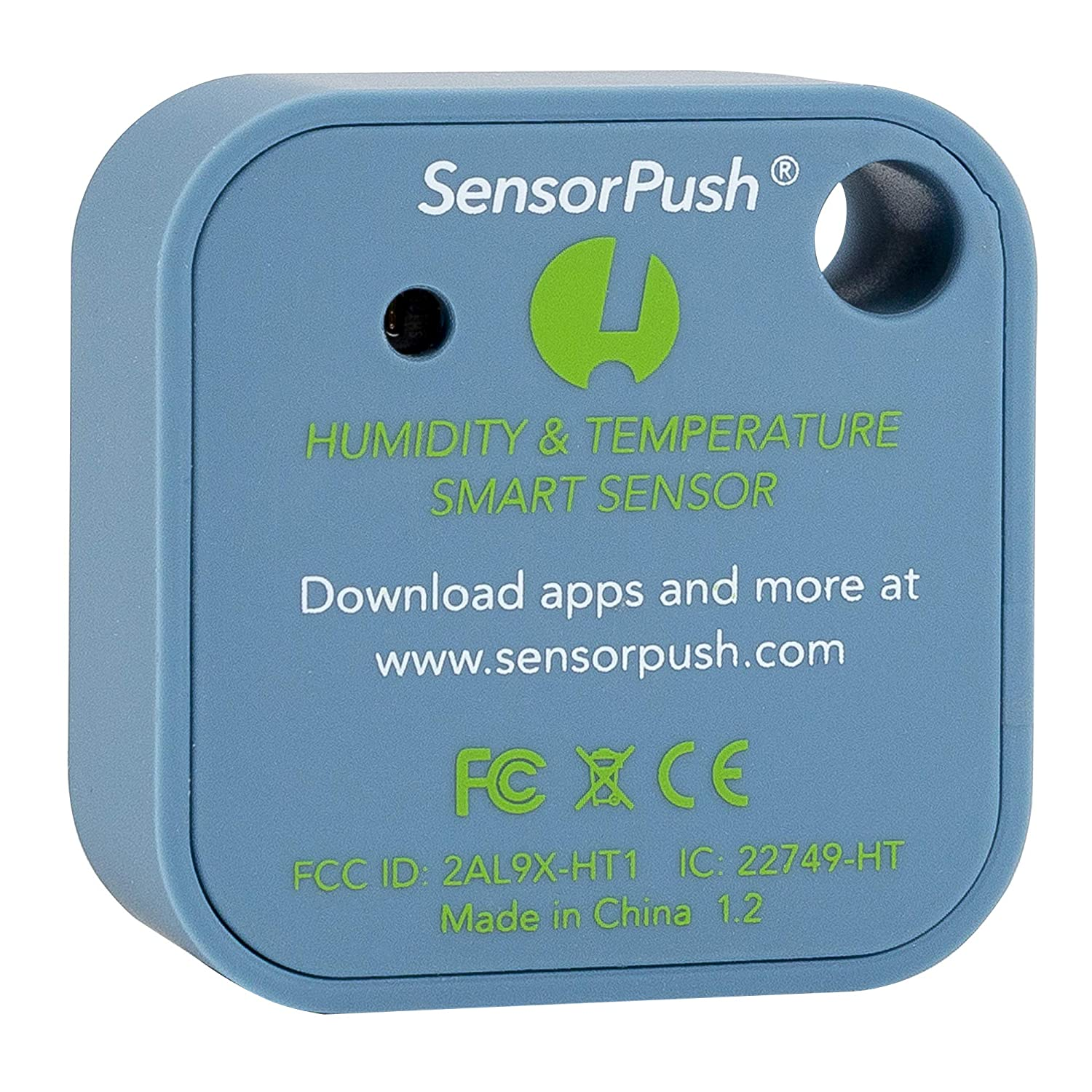 SensorPush Wireless Thermometer/Hygrometer for iPhone/Android - Humidity & Temperature Smart Sensor with Alerts. Developed and Supported in The USA