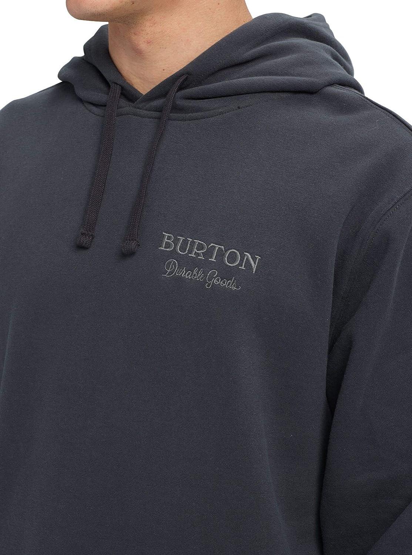 Burton Herren Durable Goods Pullover Hoodie Phantom