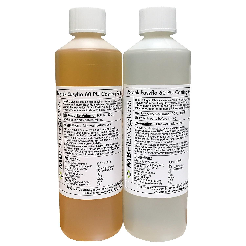 Amazon com: EasyFlo 60 Polyurethane Liquid Plastic Casting