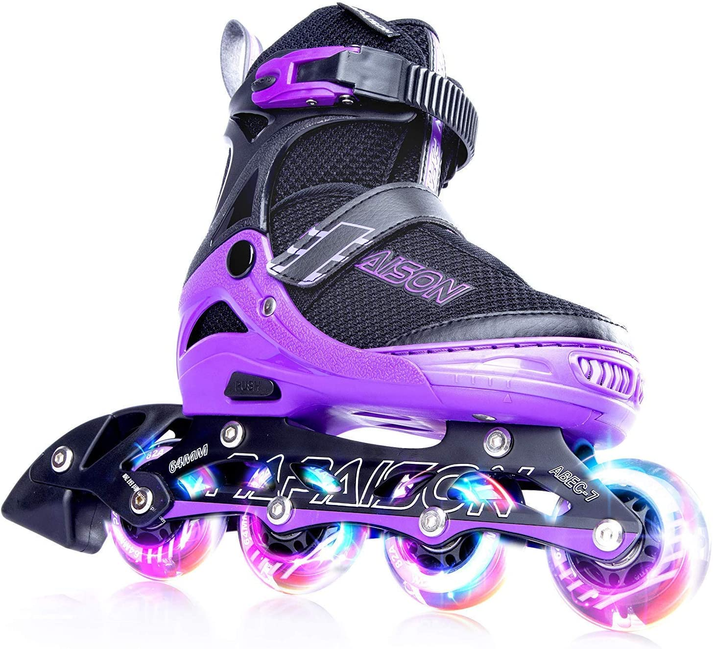 best roller skates with lights in wheels