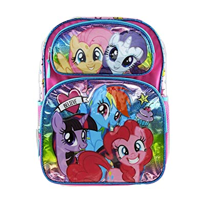 "My Little Pony Large 16"" Full Size Backpack - Believe - 19194 