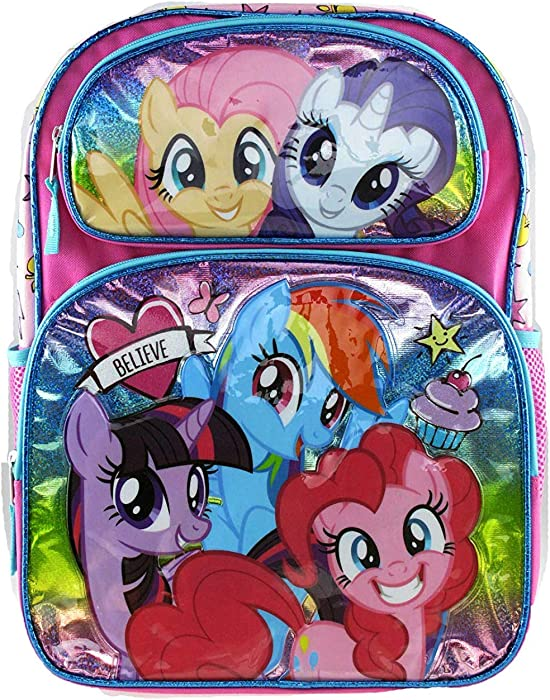 Top 10 My Little Pony Rainbow Dash 16 Inch Backpack