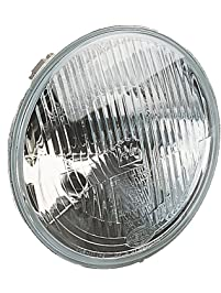 """HELLA 002395071 7"""" H4 Type Single High/Low Beam Headlamp with Position Lamp"""