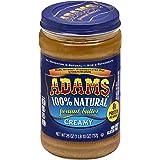 Adams Natural Creamy Peanut Butter, 26 oz