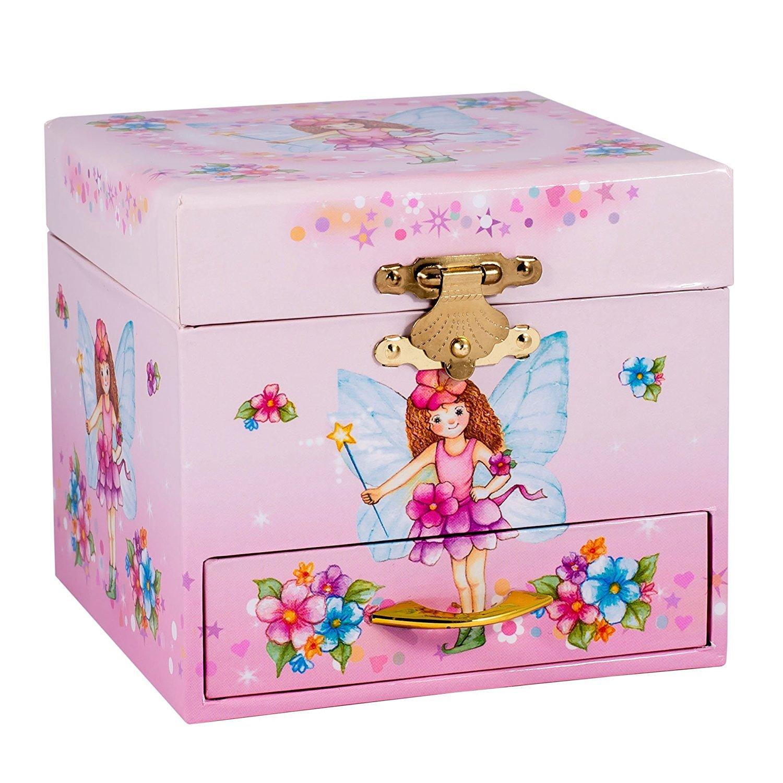 Children's Pink Fairy Music Jewelry Box