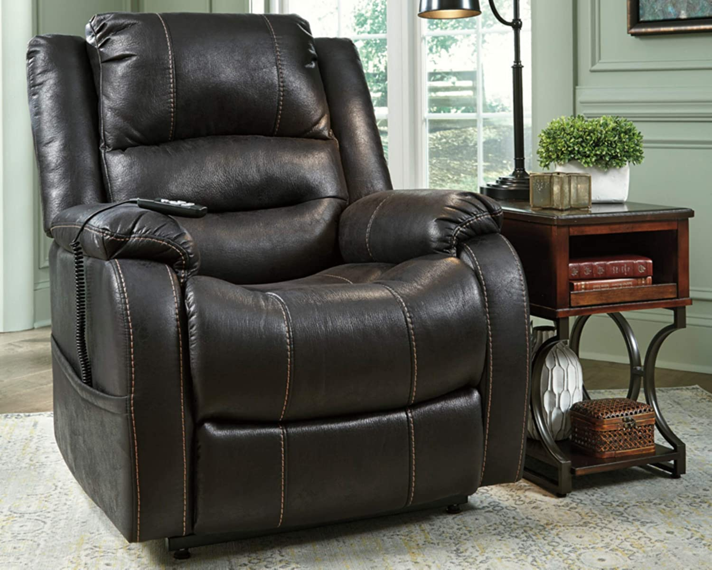 Signature Design Recliner Sofa for Back Pain