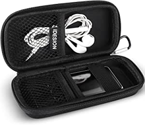 MP3 Player Case, BERENNIS Durable Hard Shell Travel Carrying Case for Berennis MP3/MP4 Players(Black)