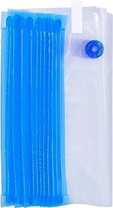 FOYO 18 Quart-sized Vacuum Zipper Bags, Vacuum Sealer Bags Food Storage Reusable Bags with Double-layer Zippers Designed, BPA free