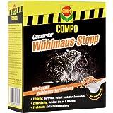 Compo Curamax Wühlmaus-Stopp, Anwendungsfertiges Vertreibungs- und Fernhaltemittel Gegen Wühlmäuse, Granulat, 200 g