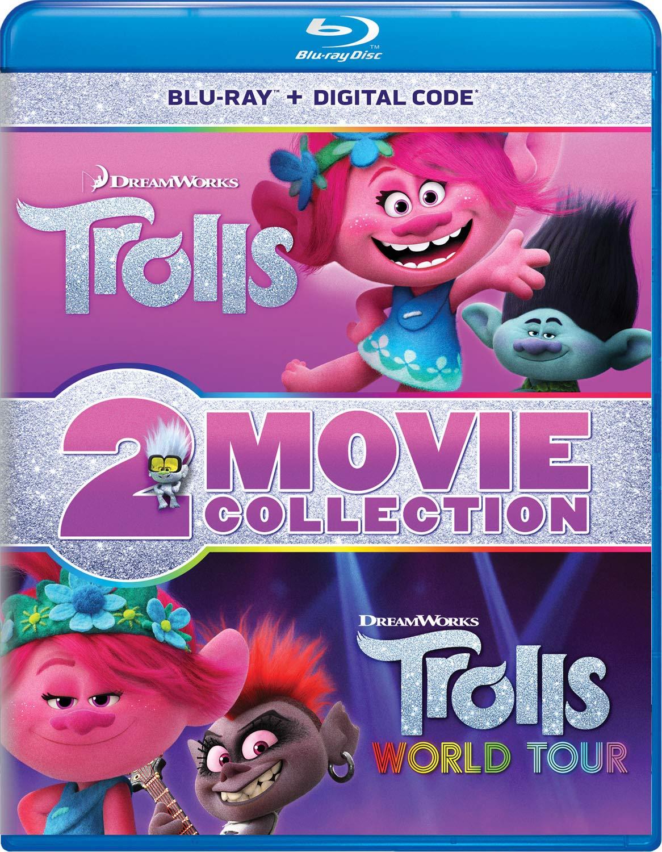 Trolls / Trolls World Tour 2-Movie Collection [Blu-ray]