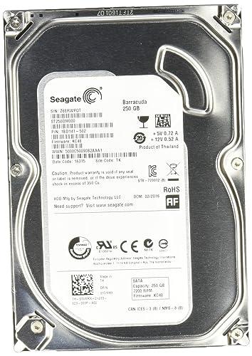 Seagate ST250DM000 3.5 inch 250GB Hard Drive (Serial-ATA, 6Gb/s, 16Mb, 7200RPM)