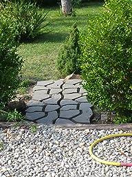 Stampi forma cemento per giardino pannelli termoisolanti - Vialetto giardino economico ...