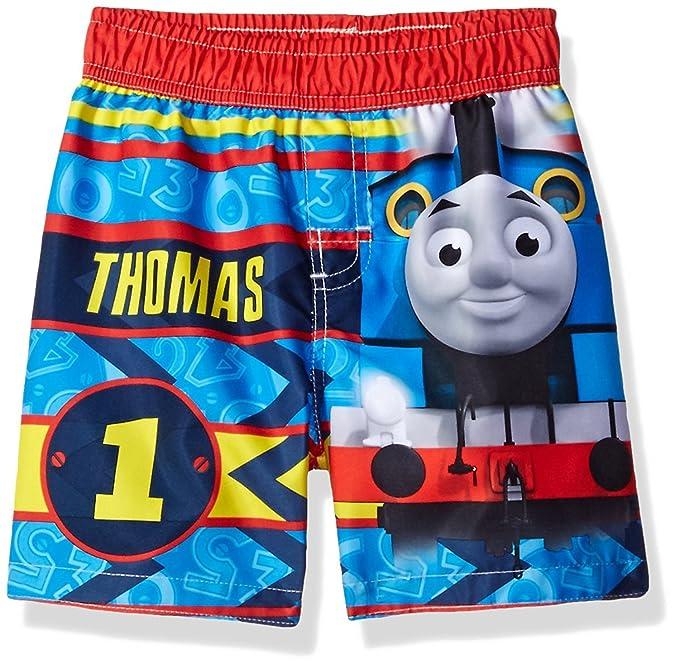 3fdd4c0ed5 Thomas and Friends Boys Swim Trunks Swimwear (4T, Thomas Blue): Amazon.in:  Clothing & Accessories