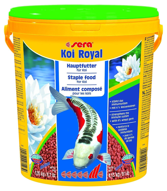 Sera - Koi Royal HF medium - Nourriture pour poissons - Carpes koï - 1 x 20 l Best Choice 7123