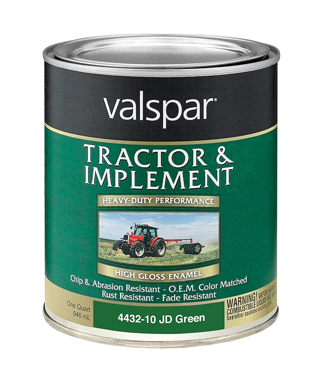 Hardener 8 oz pack of 6 automotive parts and accessories - Valspar 4432 10 John Deere Green Tractor And Implement Paint 1 Quart