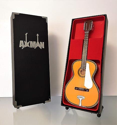 Leadbelly Fraulini Francesca - Réplica de guitarra en miniatura ...