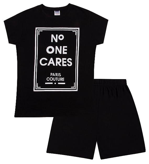 The Pyjama Factory Pijama - para Niña Negro Negro (11-12 Años