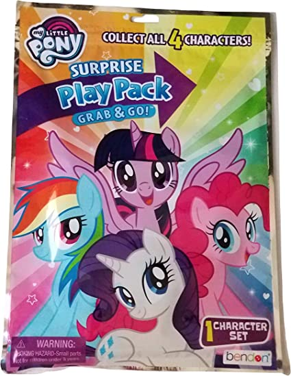 My Little Pony Surprise Play Pack Grab & Go!: Amazon.es: Belleza