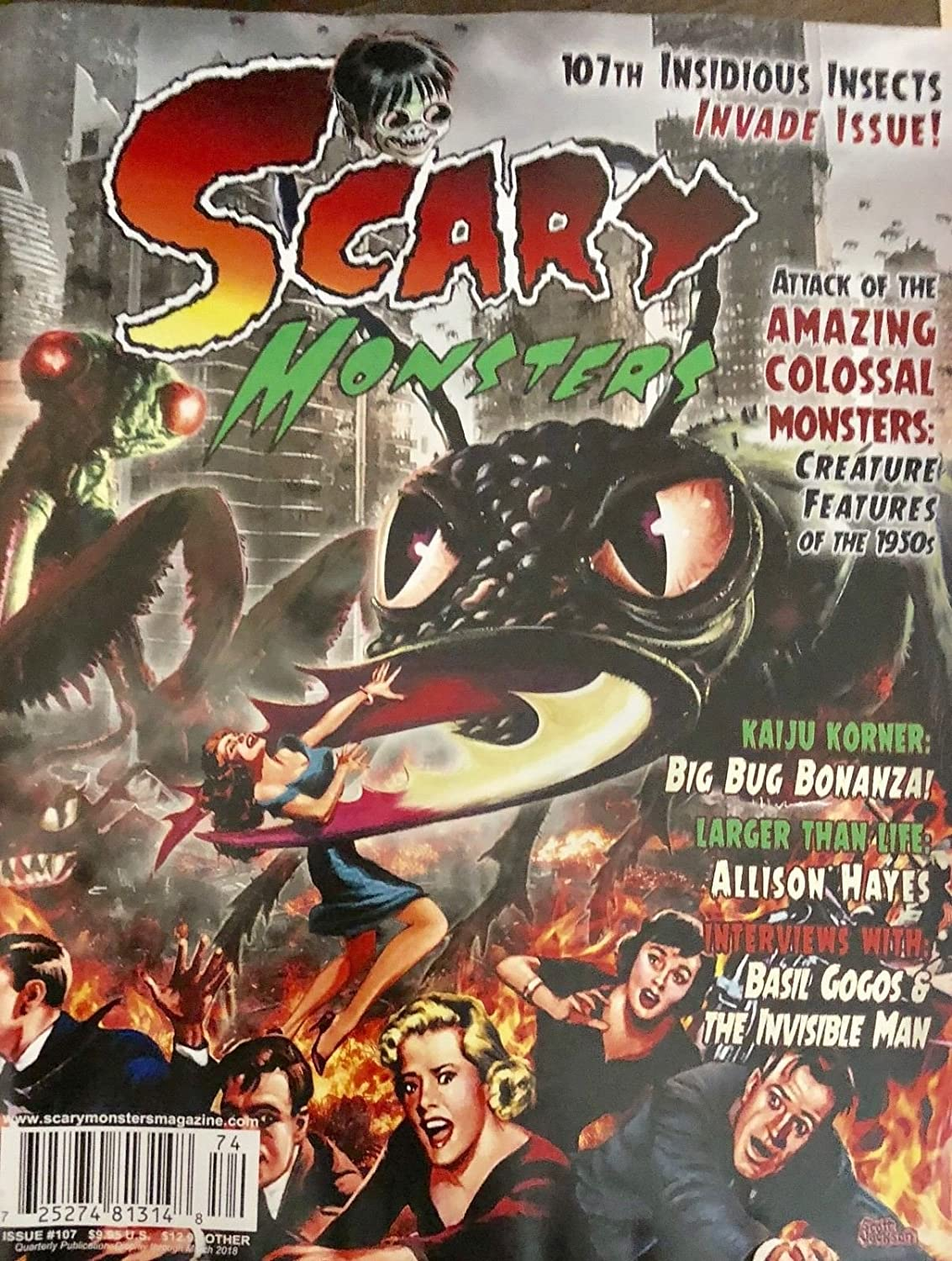 SCARY MONSTERS ISSUE 107 2018** s3457