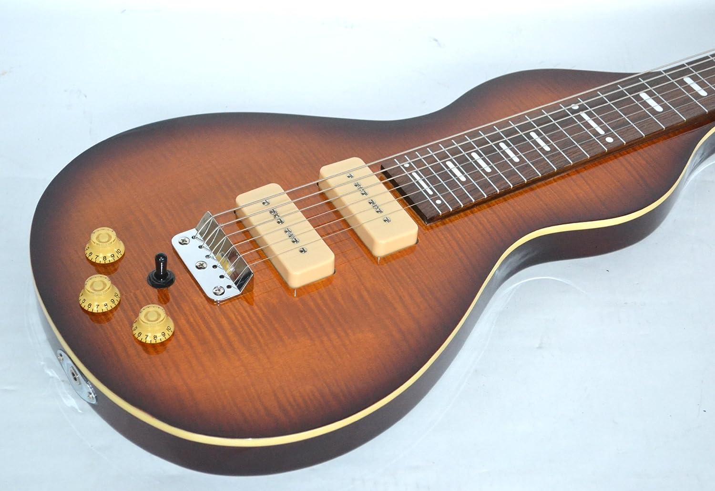 Clearwater Pro Lap Steel II - Guitarra tipo weissenborn para diestros (lap steel), color tobacco sunburst