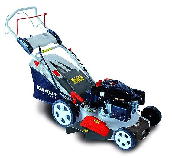 Korman garden - Cortacésped Gasolina autopropulsado 5,5CV – 196cc – 4en1 (Ref:600515)